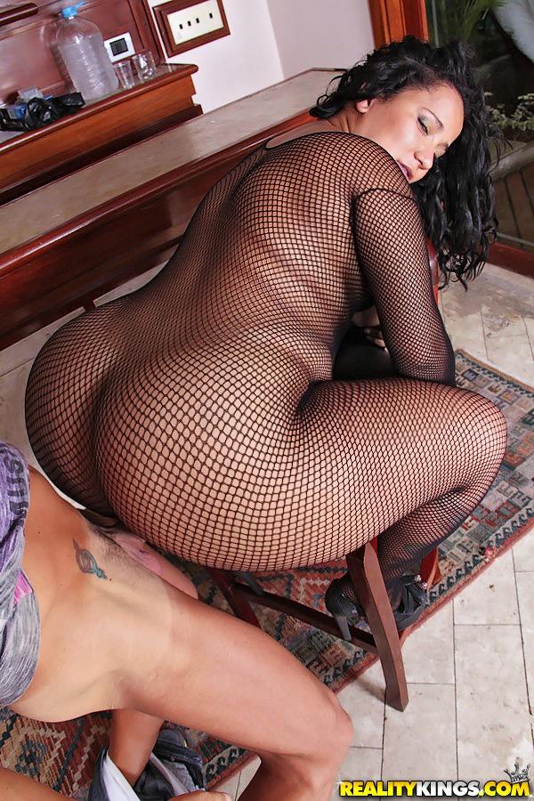Fishnet big ass