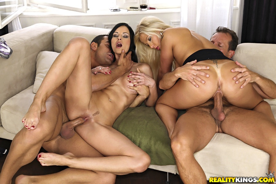 Gianna Michaels Threesome Hd