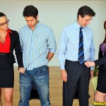 Chanel Preston in CFNM Secret: Teamwork 02