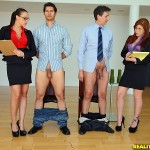 Chanel Preston in CFNM Secret: Teamwork 03