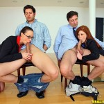 Chanel Preston in CFNM Secret: Teamwork 07