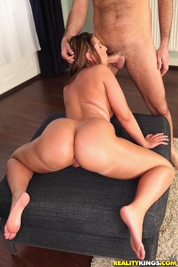 Monster white ass