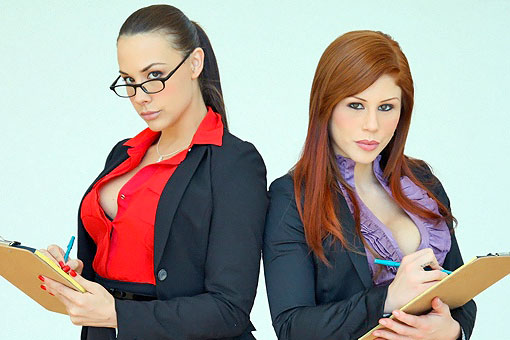 Chanel Preston in CFNM Secret: Teamwork