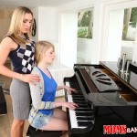 Allie James in Moms Bang Teens: Teaching Teens 01