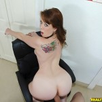 Kira Starr in First Time Auditions: Kickin It With Kira 07