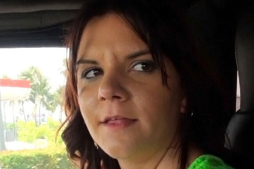 Hazel Allure in Street Blowjobs: Pull Over