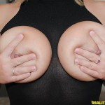 Ellie in Big Naturals: Jiggly Jugs 02